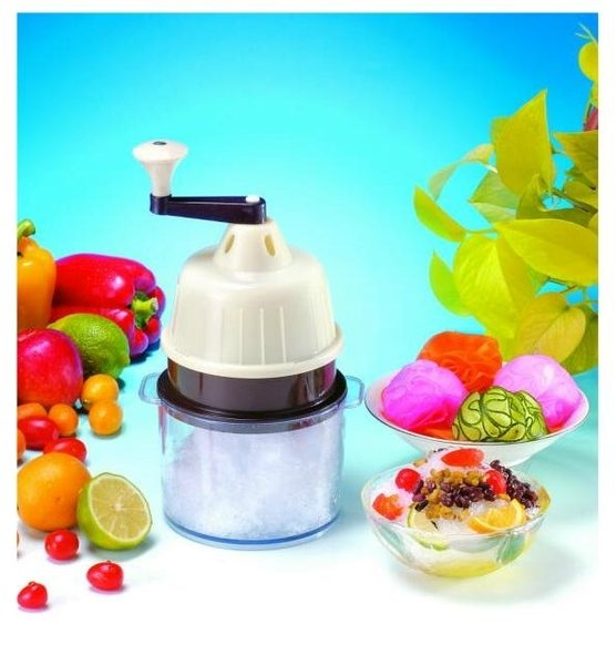 Super combo: 6 sets of 5 in 1 ice shaver & fruit juicer