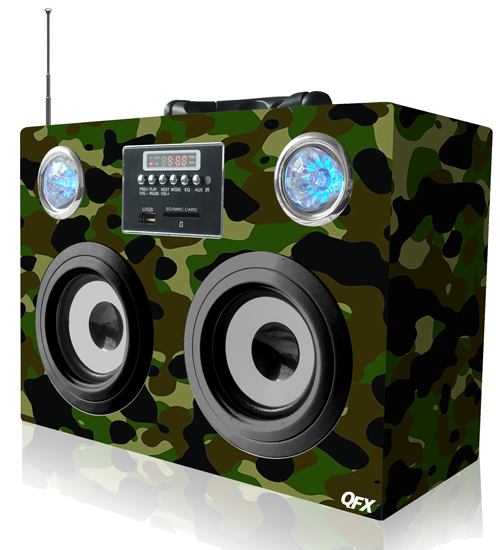 CS-11US MULTIMEDIA SPEAKER WITH FM RADIO  Model: CS-11US